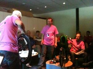 Wilfred, Anton (en Paulus) met een band...