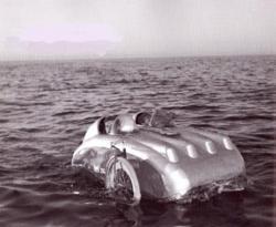 Met de ligfiets over het water