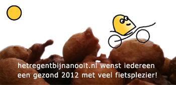Knurft.net en hetregentbijnanooit.nl wensen iedereen een gezond 2012 met veel fietsplezier!
