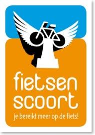 Logo fietsen scoort