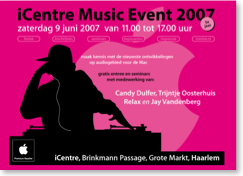 iCenter Music event 2007