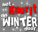 Met knurft de winter door