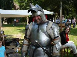 ridder in harnas
